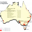 Australia - Distribution of Population