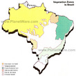 Brazil Vegetation Zones