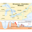 St Lawrence & Great Lakes Waterway