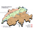 Switzerland - Geographic Regions