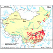 China - Rice Crop Growing Areas