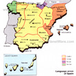 Language Areas of Spain