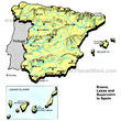 Rivers Lakes and Resevoirs in Spain