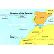 Situation of the Canary Islands