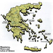 Greece Topography