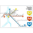 Plans of the Budapest Underground (Metro)