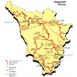 Tuscany - Suggested Routes