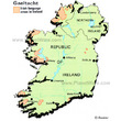 Irish Language Areas in Ireland
