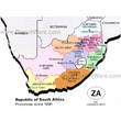South Africa - Provinces Since 1994