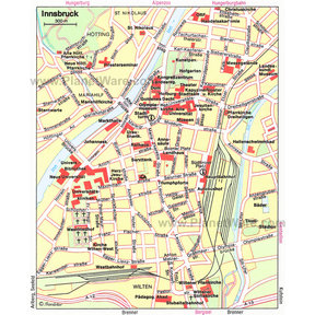 Innsbruck Map