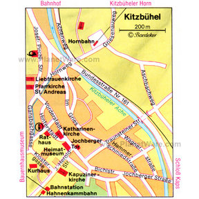 Map - Kitzbühel