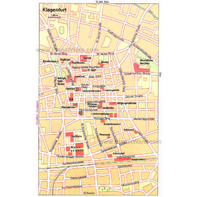 Map - Klagenfurt