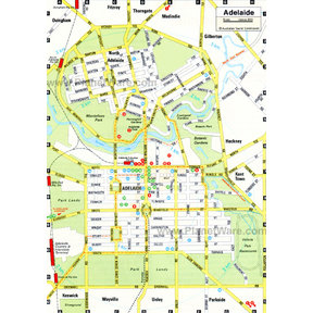 Map - Adelaide