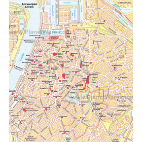 Map - Antwerp