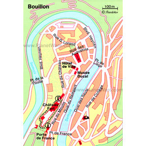 Map - Bouillon