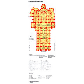 Map - St Michael's Cathedral