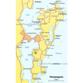 Map - Florianópolis