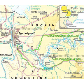 Map - Foz do Iguaçu