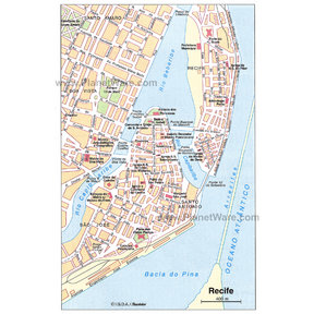 Recife Map