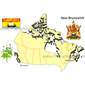 Map - New Brunswick