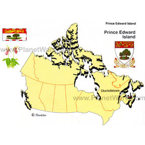 Map - Prince Edward Island (PEI)