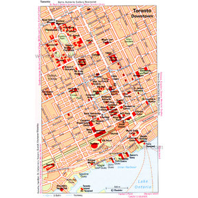 Map - Toronto Downtown