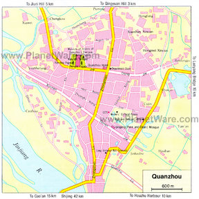 Quanzhou Map