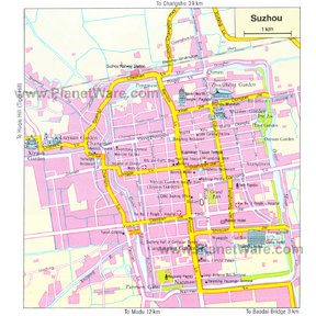 Map - Suzhou