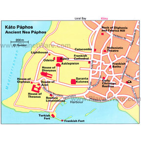 Map - Ancient Nea Paphos