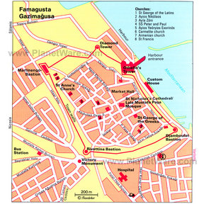 Map - Famagusta