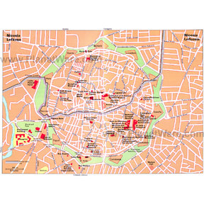 Map - Nicosia