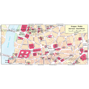 Map - Prague Old Town