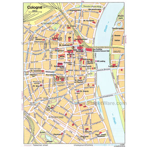 Cologne Map