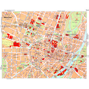 Map - Munich