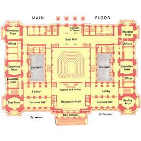 Map - Reichstag Building