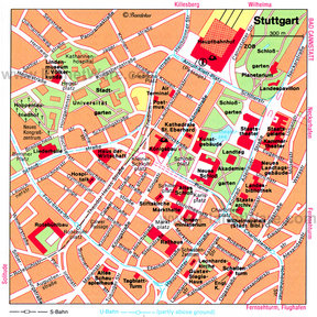 Map - Stuttgart