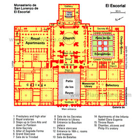 El Escorial Map