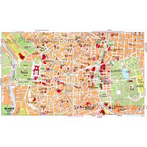 Map - Madrid