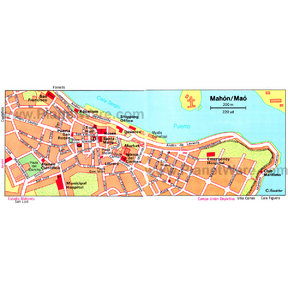 Map - Mahon