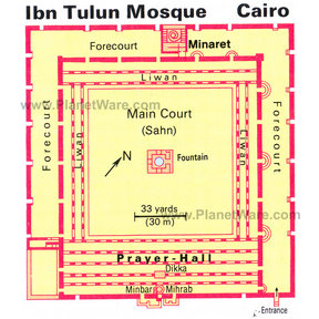 Map - Ibn Tulun Mosque