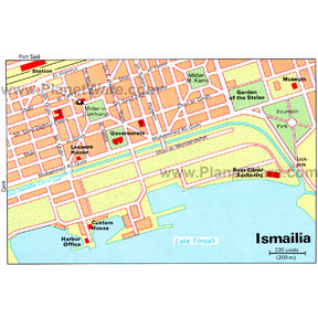 Map - Ismailia
