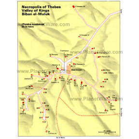 Map - Valley of Kings