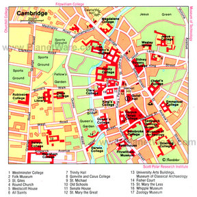 Map - Cambridge
