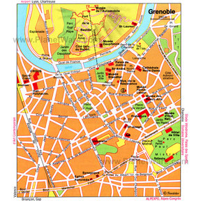 Map - Grenoble