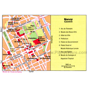 Map - Nancy Center