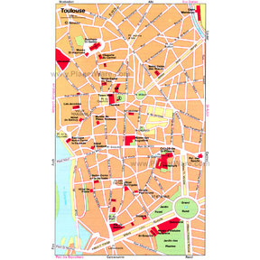 Map - Toulouse