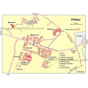 Map - Philippi