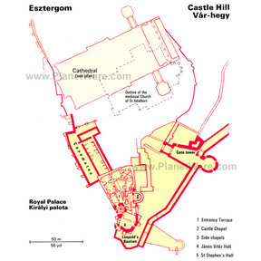 Map - Castle Hill Var-hegy