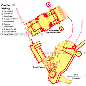 Map - Castle Hill - Varhegy