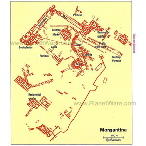 Map - Morgantina